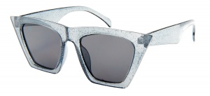 Kost sunglasses butterfly glitter ladies transparent grey/smoke