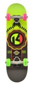 Kryptonics Skateboard 23 inch Lockerboard Sealed multicollor