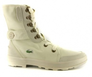 Lacoste Dames Veterboots Mlima Wit