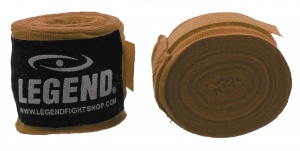 Legend Sports boxing bandages 455 cm brown per 2 pieces