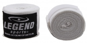 Legend Sports punching bandages 455 cm white per 2 pieces