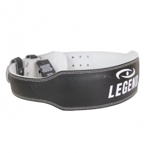 Legend Sports Fitness riem zwart leder legend