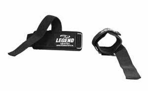 Legend Sports lifting straps zwart