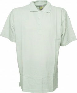 Lemon & Soda polo Basic heren lichtblauw/-groen