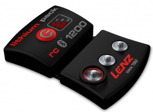 Lenz battery pack bleutooth rcB1200 black/red