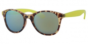 Level One sunglasses ladies brown/yellow