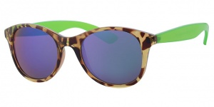 Level One sunglasses ladies brown/green