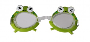 LG-Imports swimming goggles frog green