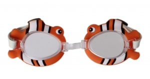 LG-Imports swimming goggles fish orange