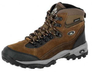 Lico hiking boots Milan suede waterproof brown