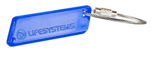 Lifesystems ringhanger Glow Marker 6 cm synthetisch blauw