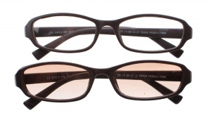 Lifetime-Vision reading glasses and reading sunglasses unisex brown