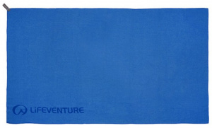 Lifeventure towel fast drying 130 cm blue 2-piece