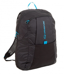 Lifeventure backpack foldable 25 litres polyester/nylon black