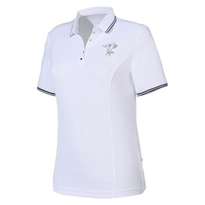 Limited Sports poloshirt dames wit