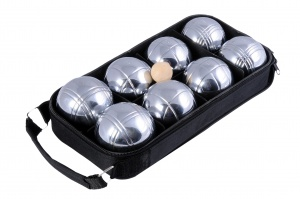 Longfield Games Bowls Set Metal 8 Balls