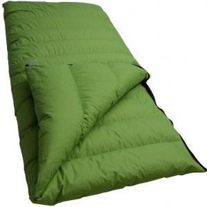 Lowland blanket sleeping bag Companion S 210 x 80 cm cotton green