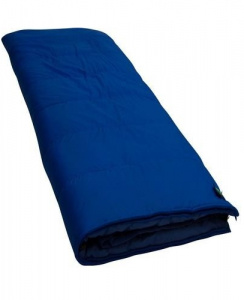 Lowland blanket sleeping bag Pulsar junior 160 x 80 cm cotton blue