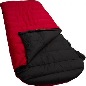 Lowland sleeping bag Ranger Comfort 230 x 80 cm nylon red/black