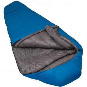Lowland sleeping bag Serai Ultra R Mummy 215 x 75 cm nylon blue