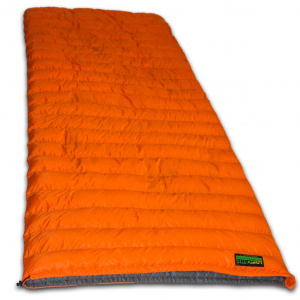 Lowland sleeping bag Super Compact R 210 x 80 cm nylon orange