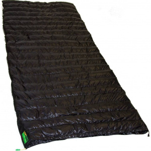 Lowland sleeping bag Ultra Compact L 210 x 80 cm nylon black