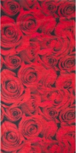 M-Wave bandana Roses red