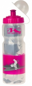 M-Wave Bidon Thermo PBO 400-ISO Roze / Transparant