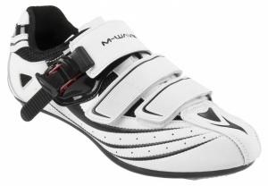M-Wave Raceschoenen Road Racing Heren Wit Zwart