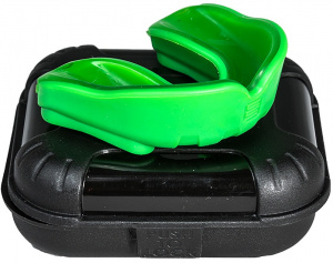 Makura mouth guard Ignis Prosenior silicone green