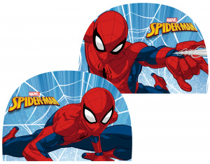 Marvel swimming cap Spider-Man junior polyester blue/red one-size