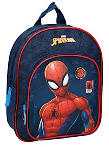 Marvel rucksack Spider-Man Be Strong boys 7 L blau/rot