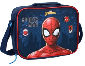 Marvel shoulder bag Spider-Man Lunchtime boys 4 L blue/red
