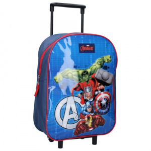 Marvel trolley case Avengers junior 15 litres polyester blue/red