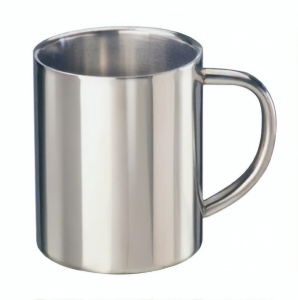 Mato thermos flask Simple stainless steel 300 ml silver