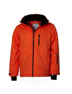 Maupiti ski jacket Basicmen's orange