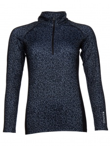 Maupiti thermoshirt ladies Kelley black/multicolor
