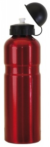 Mighty Aluminium Drinkfles ABO 750 Rood