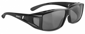 Mighty Radsportbrille Rayon Fit Over schwarz