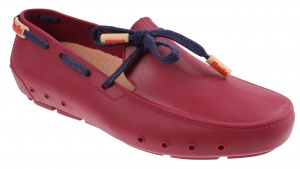 Mocks Loafer walkers unisex dark red