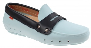 Mocks Mocklite Penny instappers ladies light blue