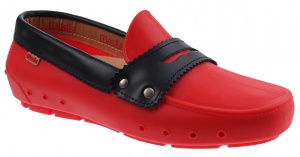 Mocks Mocklite Penny instappers ladies red