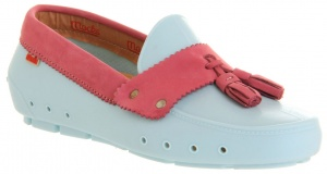 Mocks Tassle instappers ladies light blue