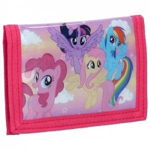 My Little Pony wallet Ponyville 9 x 12 cm pink