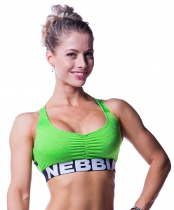 Nebbia sports bra women green