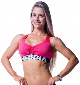 Nebbia sports bra women pink