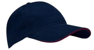 New Port Baseballcap Sandwich junior marineblauw