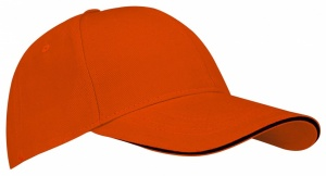 New Port Baseballcap Sandwich oranje