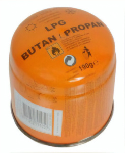 Newco gasblik 190g orange