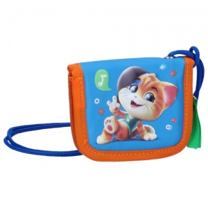 Nickelodeon pouch 44 Cats Pawesome 13 x 10,5 cm blue